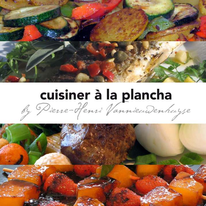 "Livre ""Cuisiner à la Plancha"""