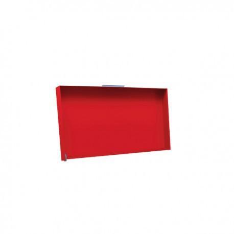 Couvercle pour plancha Rainbow rouge